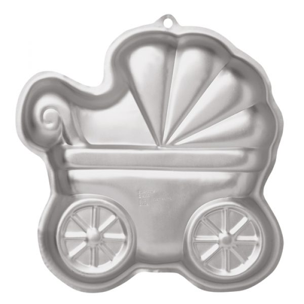 Wilton Kinderwagen Backform-30