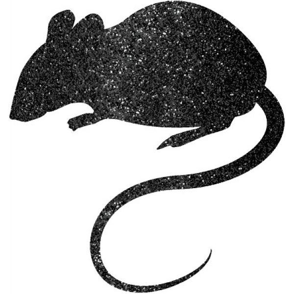 9 Glitzer Mäuse Auschnitte-0