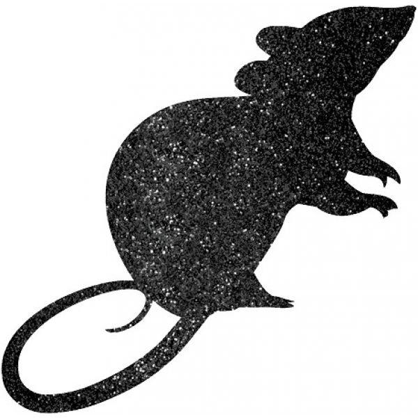 9 Glitzer Mäuse Auschnitte-1390