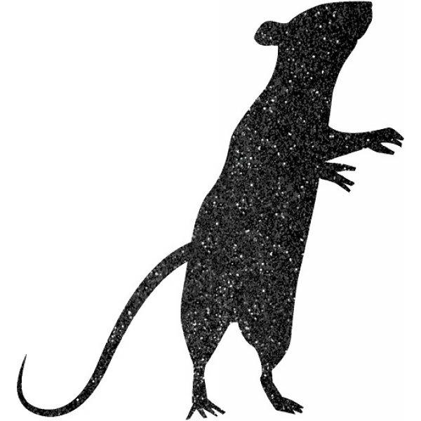 9 Glitzer Mäuse Auschnitte-1388