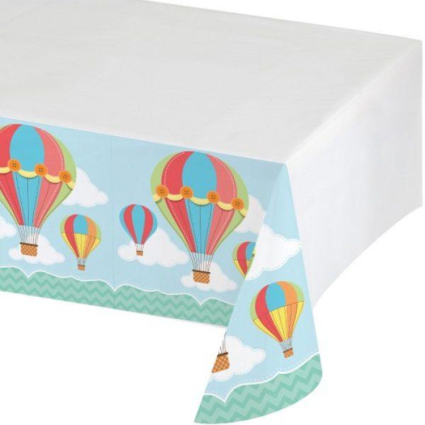 Up Up & Away Heissluftballon Tischdecke-0