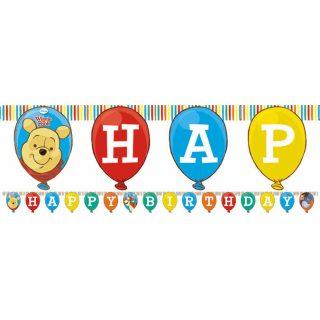 """Winnie Puuh """"Happy Birthday"""" Girlande-0"""