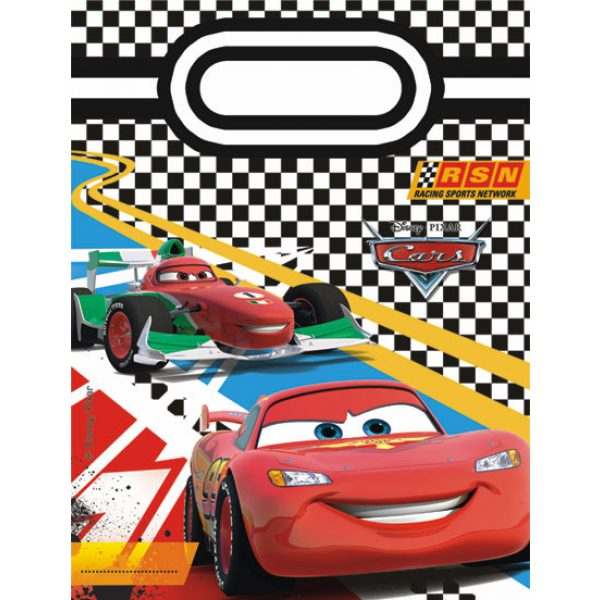 6 Cars Formula Partytüten -0