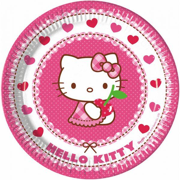 8 Hello Kitty Pappteller-0