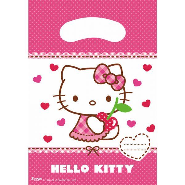6 Hello Kitty Partytüten-0