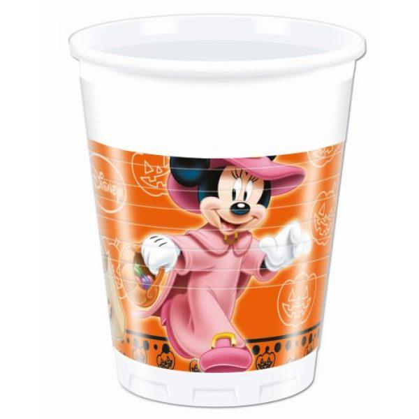 8 Mickey Halloween Plastikbecher-0
