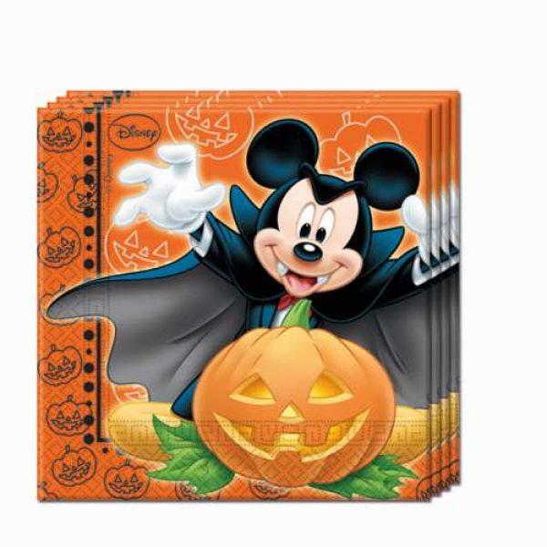 20 Mickey Halloween Servietten -0