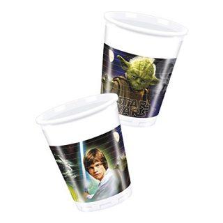 8 Star Wars Heroes Plastikbecher -0