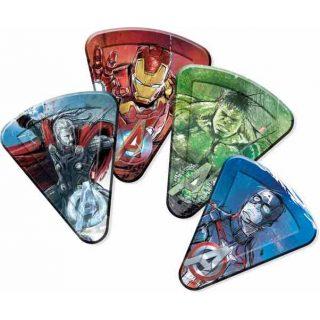 8 Avengers Pizza Pappteller-0