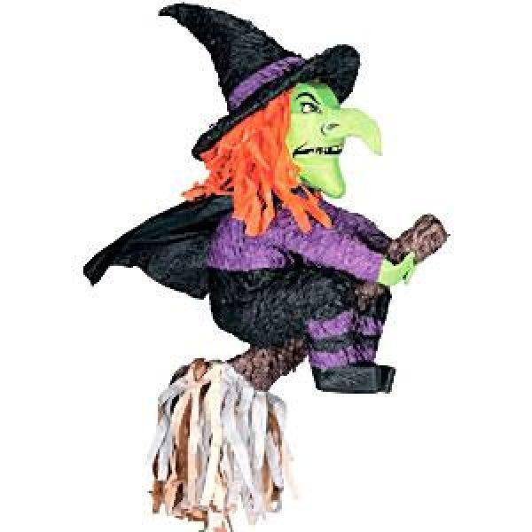 Halloween Hexe Pinata-0