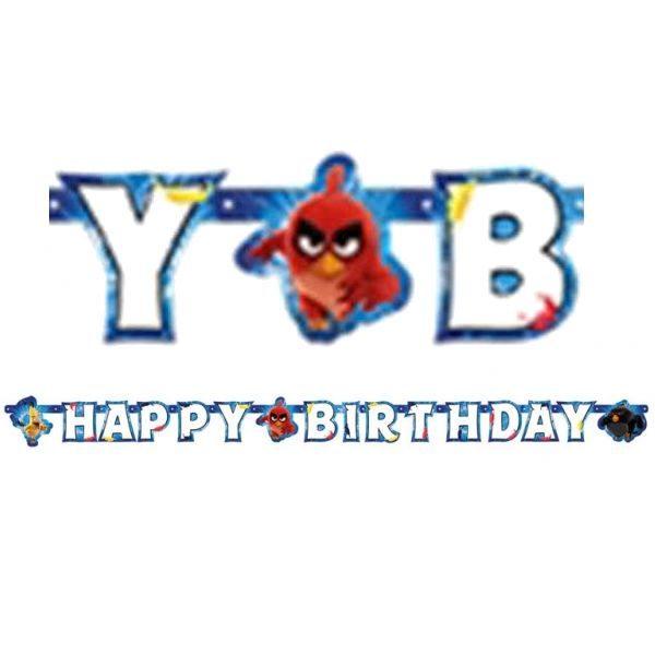 "Angry Birds ""Happy Birthday"" Girlande-0"