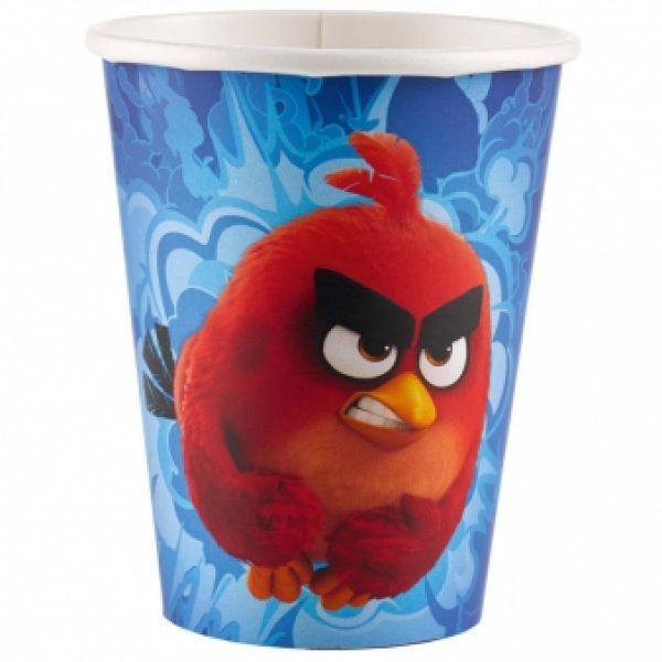 8 Angry Birds Pappbecher-0