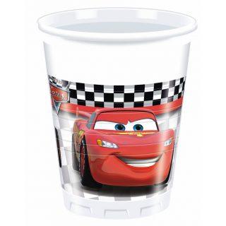 8 Cars Formula Plastikbecher-0