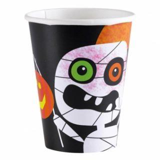 8 Halloween Boo Crew Pappbecher-0