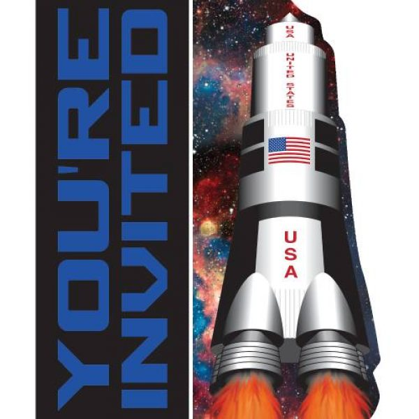 8 Abenteuer im Weltall Einladungen-0