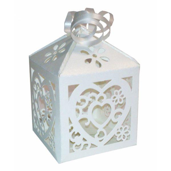 12 Herz Laser-Cut Geschenkschachtel-0
