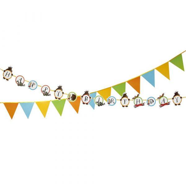 Der Grüffelo Happy Birthday Wimpelketten Set-1073
