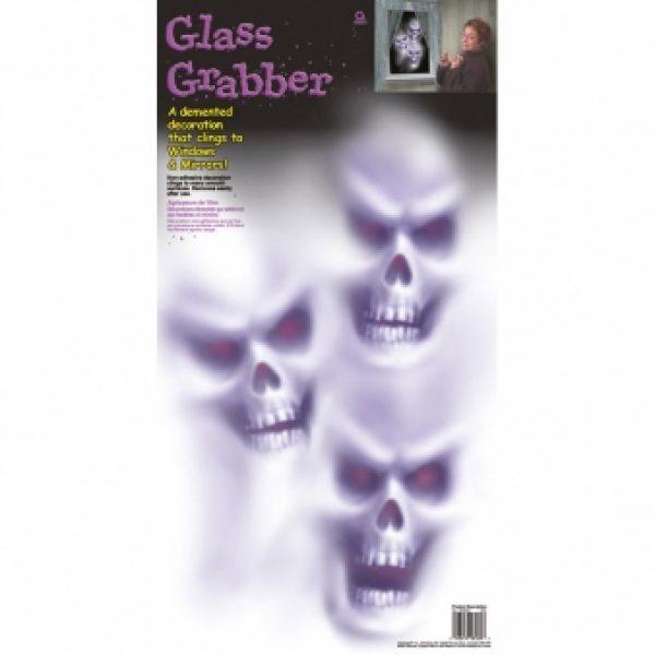 Glass Grabber Halloween Fensterbild-0
