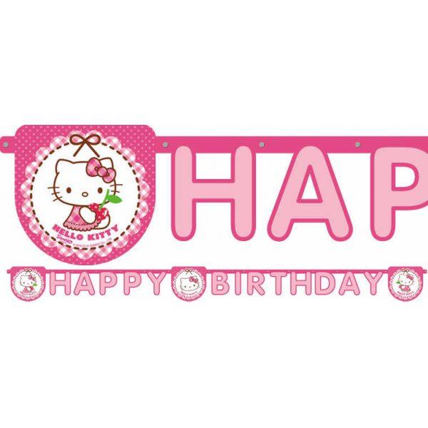 "Hello Kitty ""Happy Birthday"" Girlande-0"