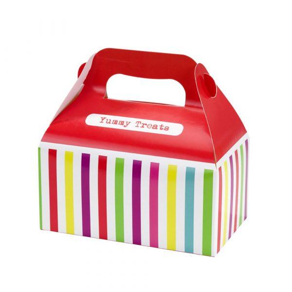 4 Sweet Shop Rainbow Treat Boxes-0