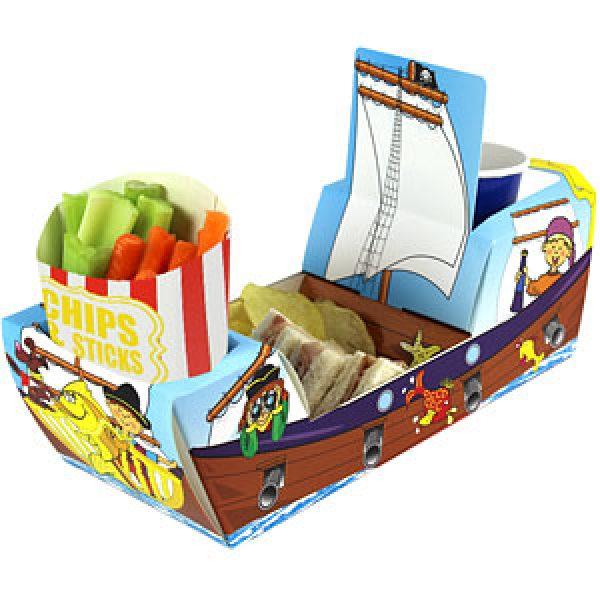 3D Snackschale Piratenschiff-0