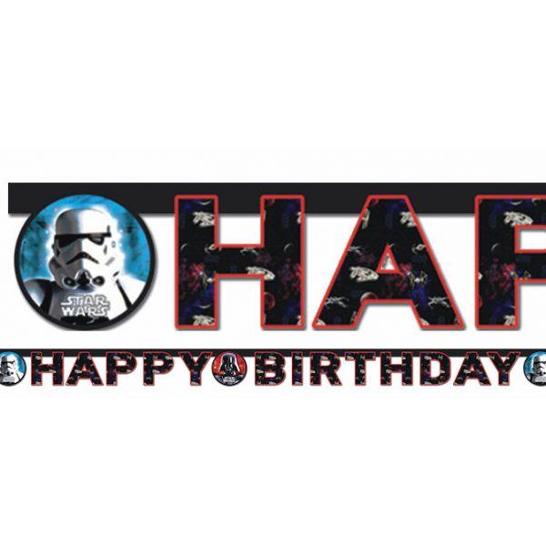 "Star Wars ""Happy Birthday"" Girlande-0"