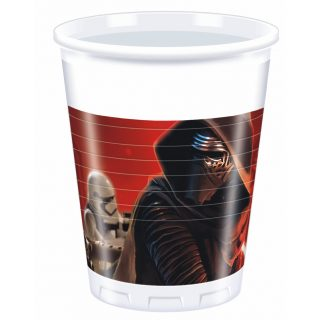 8 Star Wars Plastikbecher -0