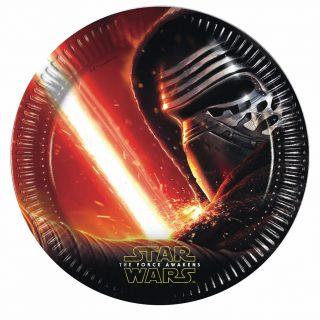 8 Star Wars Kylo Ren Pappteller-0