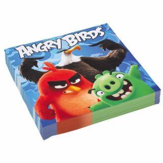 20 Angry Birds Servietten-0
