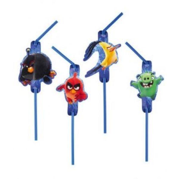 8 Angry Birds Strohhalme-0