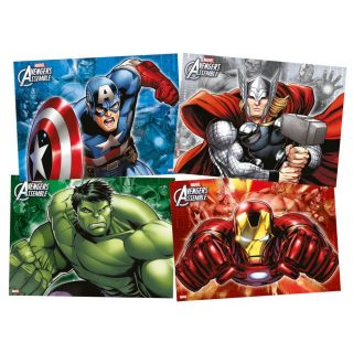 4 Avengers Tischsets-0