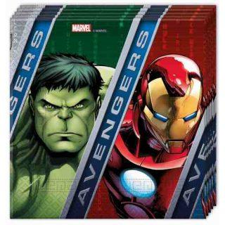 20 Avengers Servietten-0