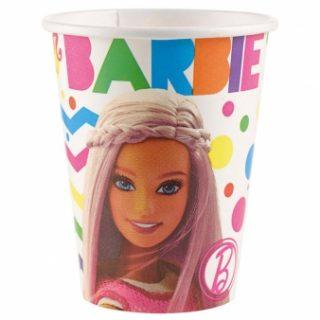 8 Barbie Sparkle Pappbecher-0