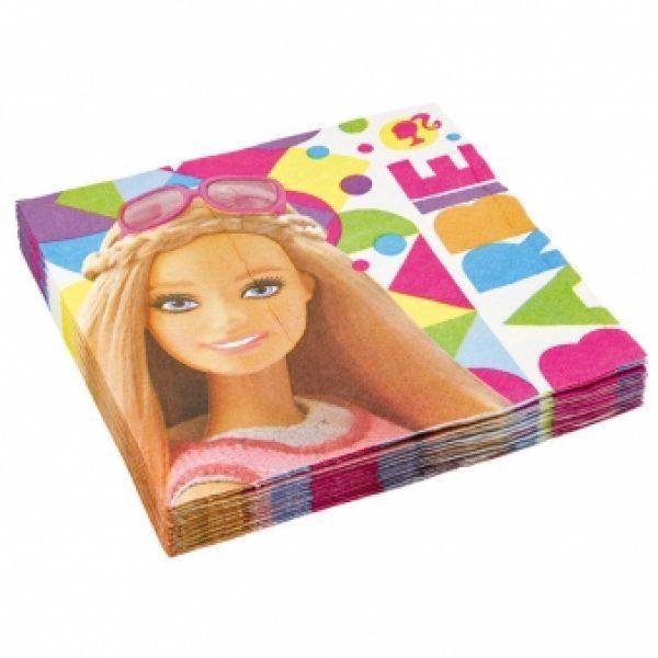 20 Barbie Sparkle Servietten-0