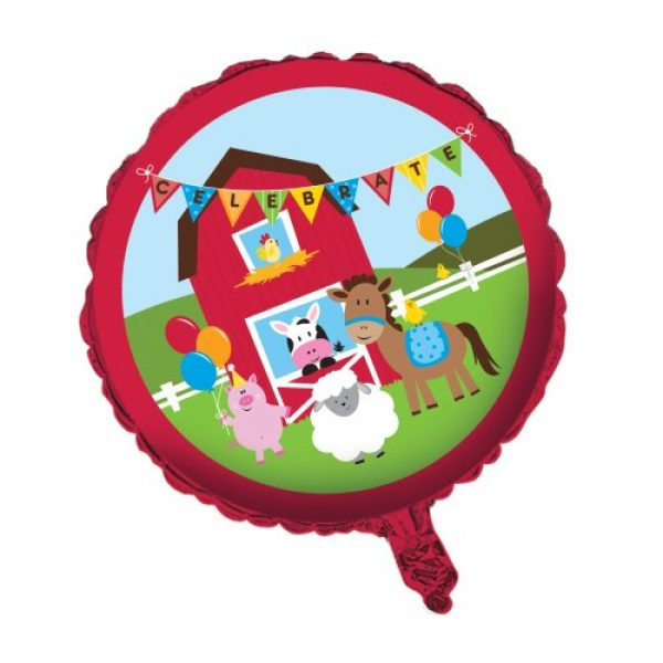 Bauernhof Party Folienballon 45 cm-0