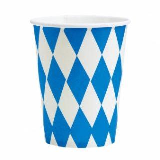 8 Oktoberfest Bayern Pappbecher-0