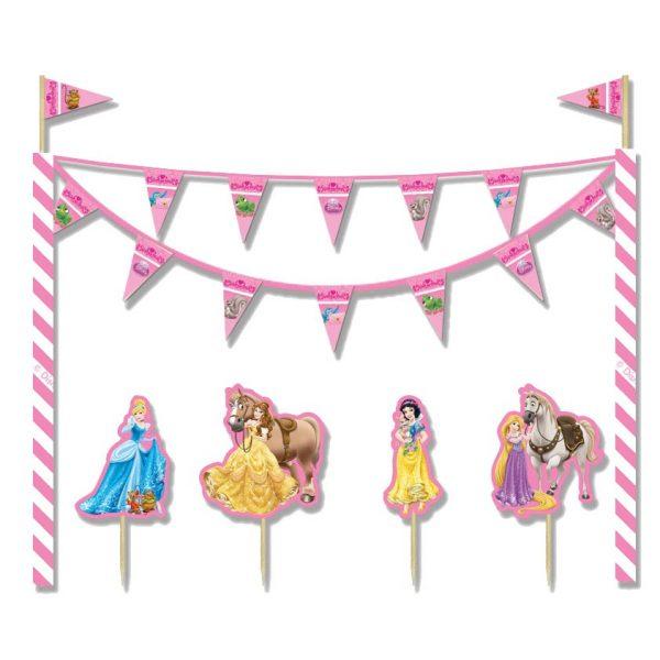 Disney Prinzessin Torte Dekoration Set-0