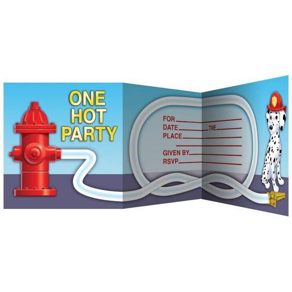 8 Feuerwehr Einladungen-0