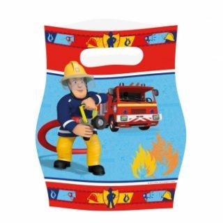 8 Feuerwehrmann Sam Partytüten-0