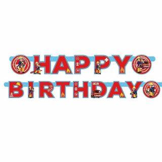 Feuerwehrmann Sam Happy Birthday Girlande-0