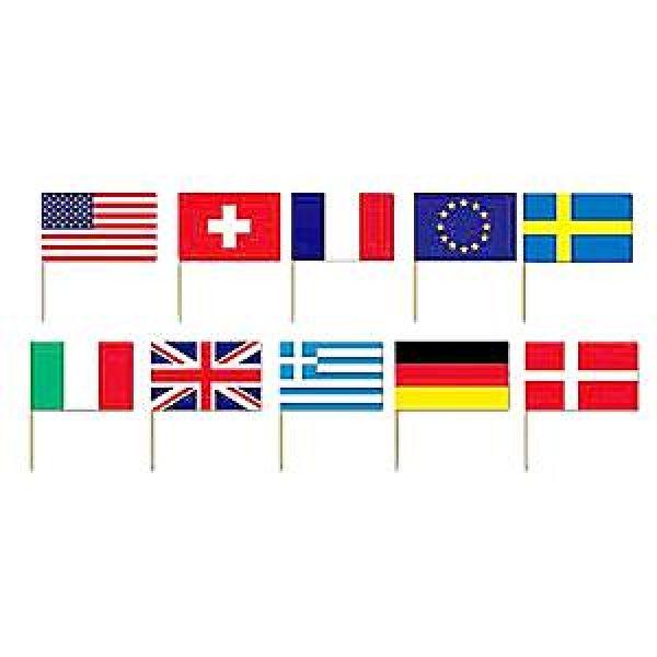 50 Internationale Flaggen Picks-0