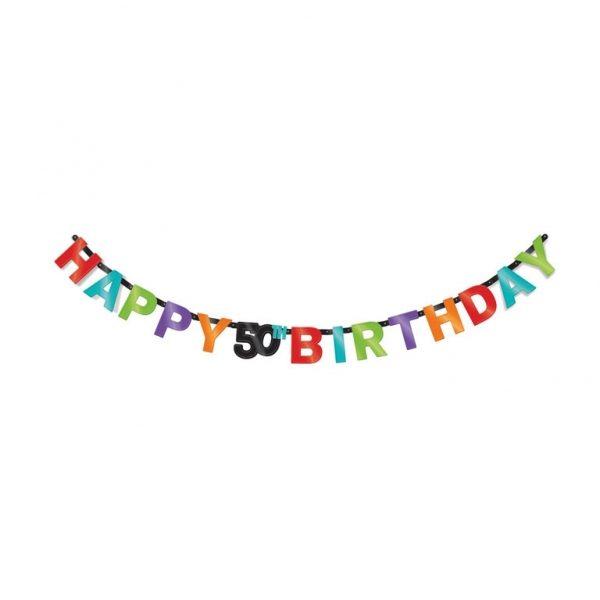 Happy 50th Birthday Girlande-1978
