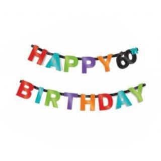 Happy 60th Birthday Girlande-0