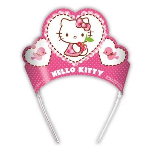 6 Hello Kitty Tiara Haarreif-0