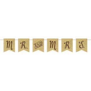 Mr and Mrs Hochzeit Girlande-0