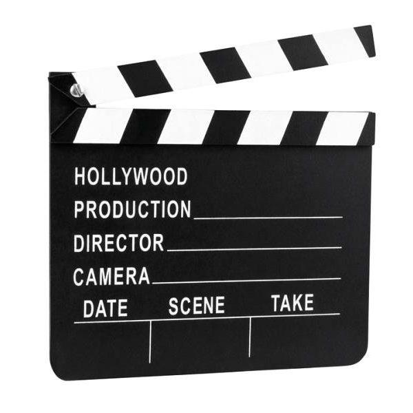 Hollywood Filmklappe-0