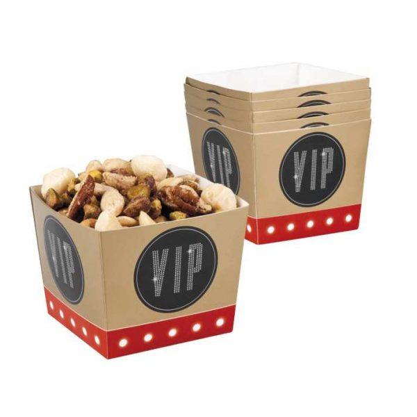 6 VIP Popcorn Boxen -0