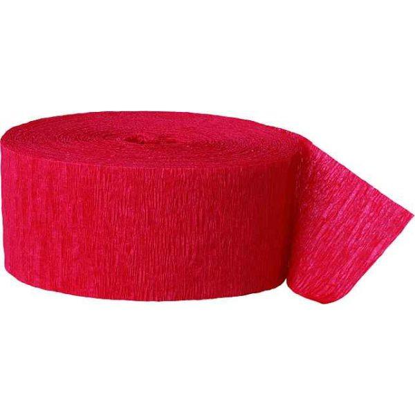 25 m Kreppband Rot-0