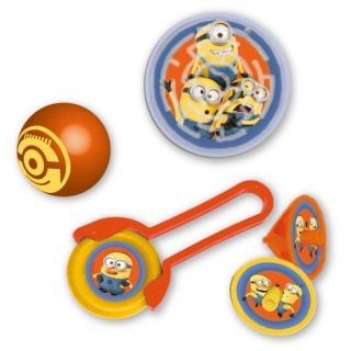 Minions Mitgebsel Party Spiele Set-0