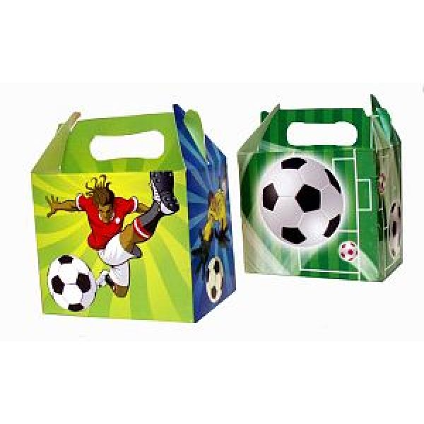6 Fussball Party Mitgebselbox-0